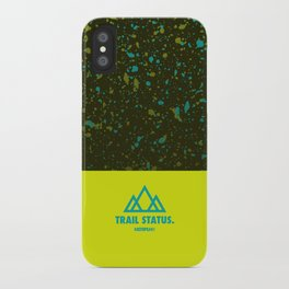 Trail Status / Green iPhone Case