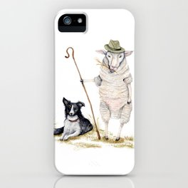 Sheepherd Sheep iPhone Case