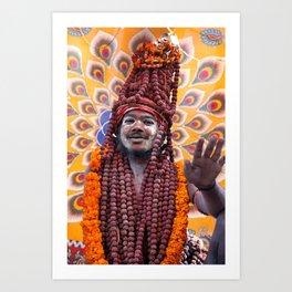 Saddhu, India Art Print