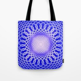 Swirling Dreams, blue  Tote Bag