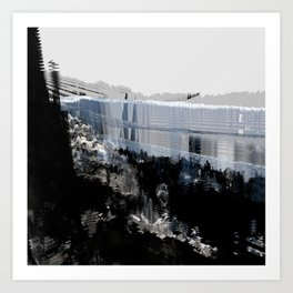 Tokyo in the Ice Age no. 15 Art Print