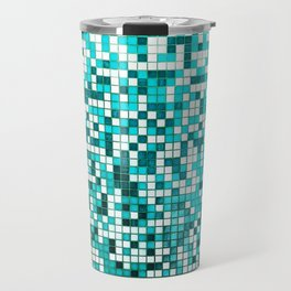 Pool Tiles Travel Mug