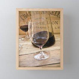 Bordeaux Wine Tasting Framed Mini Art Print