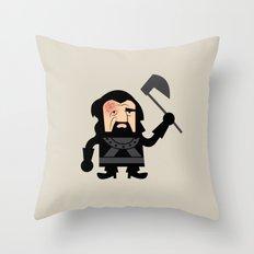 The Hound Dwarf Throw Pillow