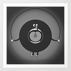 old skipping record Art Print