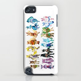 Eeveelutuions Complete Artwork iPhone Case