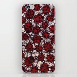Ladybug Batik iPhone Skin