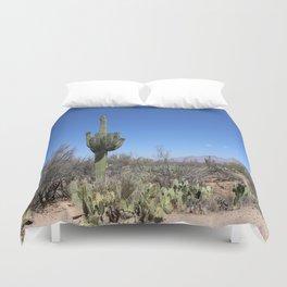 A Desert Landscape Duvet Cover