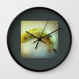 Banana Fish Bone Wall Clock