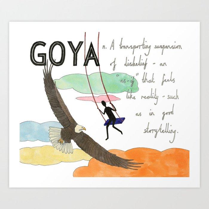 Goya Art Print