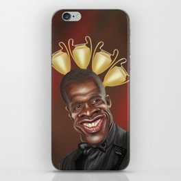 Clarence Seedorf Caricature iPhone Skin