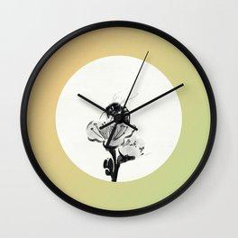 Hibernating Insects Surface Wall Clock