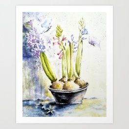 Spring Gifts Art Print