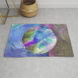 Abstract Multi-coloured Mandala 1288 Rug