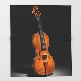 Historical Italian Cello Photograph (1560) Throw Blanket