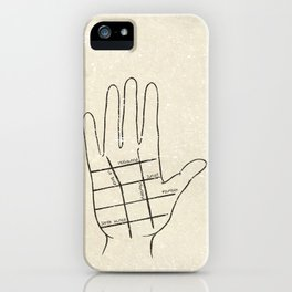 Hollywood Palm Reading iPhone Case