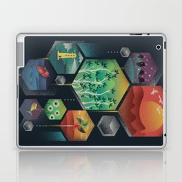 Geometrical Wonders Laptop & iPad Skin
