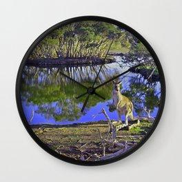 Iconic Australia Wall Clock