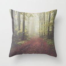 #autumn Throw Pillow