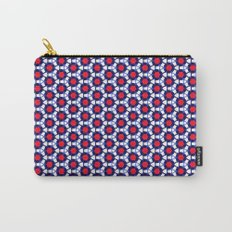 Red & Blue Pattern Carry-All Pouch