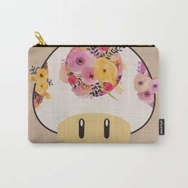 Mushroom in Bloom Carry-All Pouch