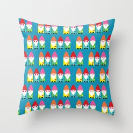 The BFF Gnomes II Throw Pillow
