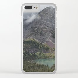 Grinnell Lake from the Trail No. 1 - Glacier NP Clear iPhone Case