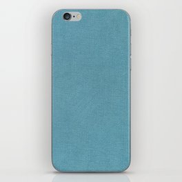 Solid Blue iPhone Skin