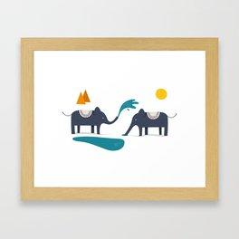 ELEFUNT Framed Art Print