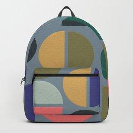 Modern abstract art 70-80 Backpack