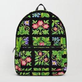 Tudor Flower Parterre Backpack