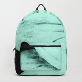 Mint Green Sunflower Backpack