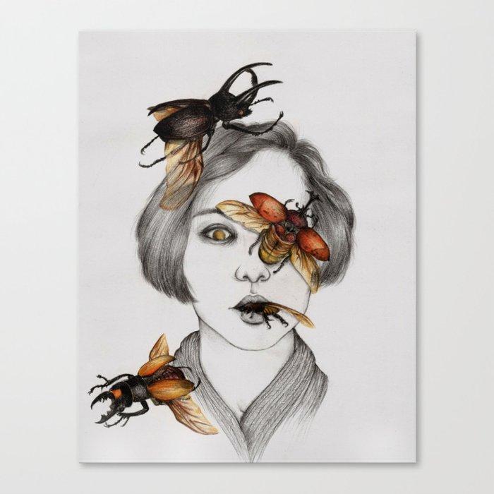Disease III Canvas Print