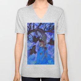 Ravenwitch - Shades of Blue Unisex V-Neck