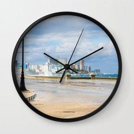 Malecón - Havana Wall Clock