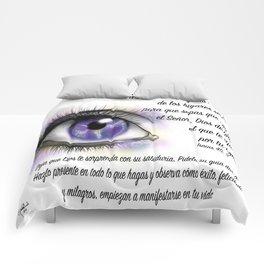 Ojo galaxia - Isaías 45, 3 Comforters