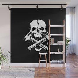 Skull Hammer Wall Mural