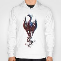 phoenix Hoodies featuring Phoenix by Giorgio Finamore