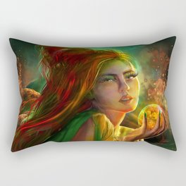Marry the poisoned night Rectangular Pillow