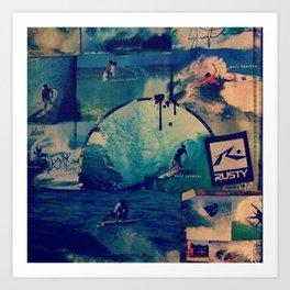Surfers  Art Print
