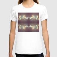 bokeh T-shirts featuring Bokeh Bokeh Bokeh by Devin Stout
