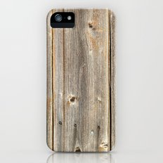 Old Rustic Wood Texture Slim Case iPhone (5, 5s)