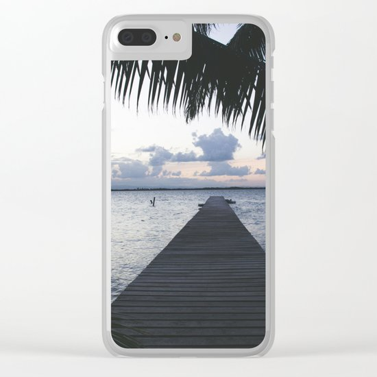 On the Dock Clear iPhone Case