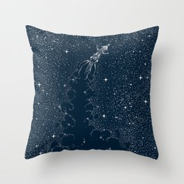 Star Inker Throw Pillow
