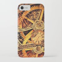 clockwork iPhone & iPod Cases featuring CLOCKWORK by Stephanie Lue