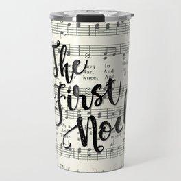 The First Noel Travel Mug