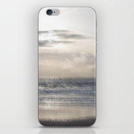 Silver Scene ~ Ocean Ripple Effect iPhone Skin
