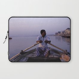 On The Ganges Laptop Sleeve