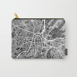 Belfast Northern Ireland City Map Carry-All Pouch