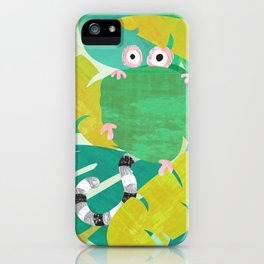Wide-Eyed Oggle (Bewundering World of Bewilderbeests) iPhone Case